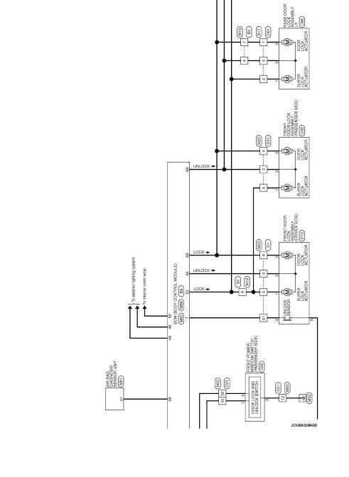 Wiring Diagram - Door  U0026 Lock Type 3
