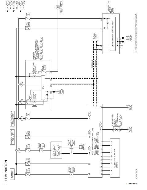 Illumination - Wiring Diagram