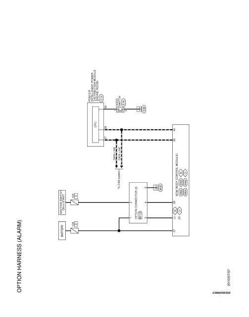 Option Harness - Wiring Diagram - Power Supply  Ground  U0026 Circuit Elements