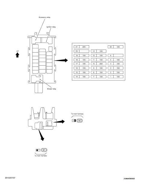 Fuse Block - Junction Box  J  B  - Wiring Diagram