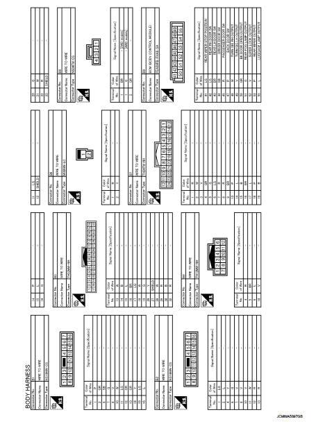 Connector Information - Wiring Diagram